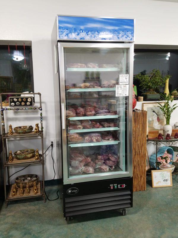 Beefalo Meat Refrigerator .